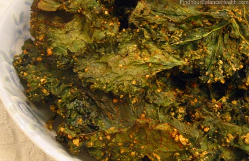Chili Lime Kale Chips