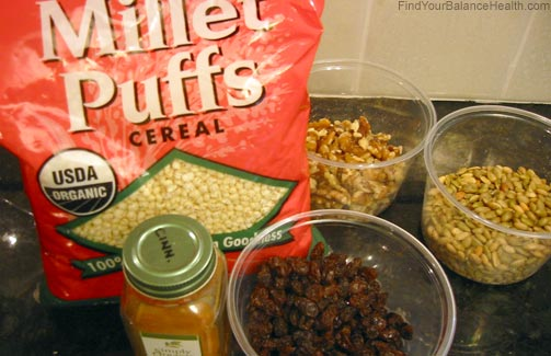 Healthy cereal ingredients