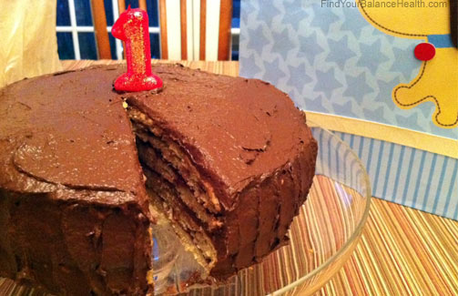 No sugar added birthday cake success Find Your Balance with