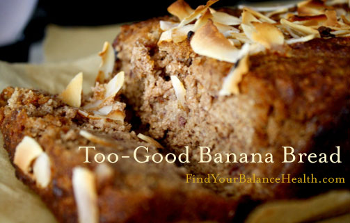 Banana Bread (Gluten-free, processed sugar-free): Detox recipe 1 of 21 ...