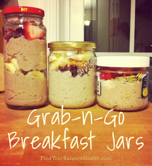 breakfast jars