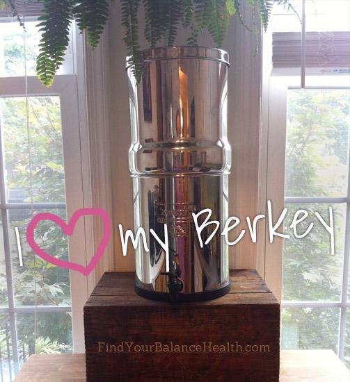 I love my Berkey water filter