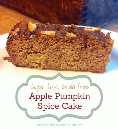Apple Pumpkin Spice Cake Grain-free