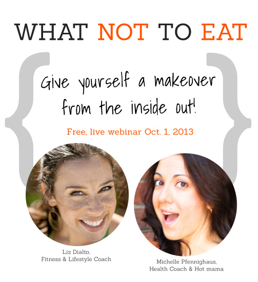 What not to eat webinar