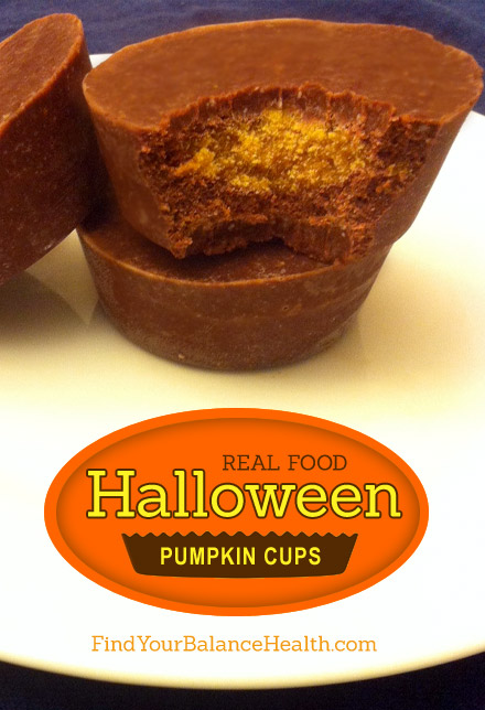 Real Food Pumpkin Fudge Cups