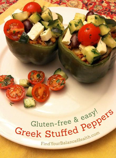 Greek Stuffed Peppers