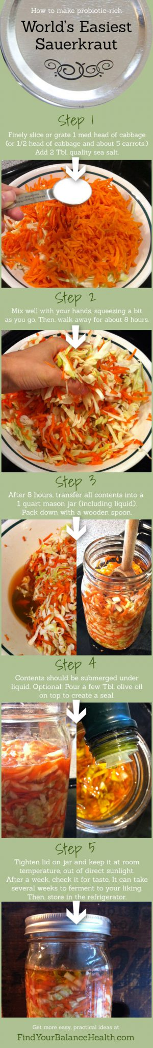 Easy Sauerkraut Recipe
