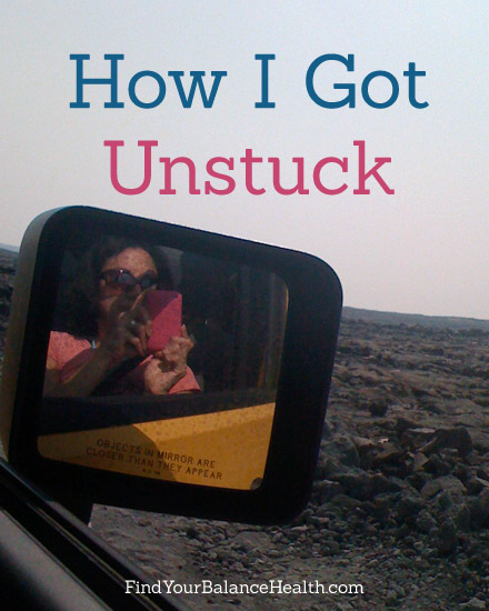 How I got unstuck