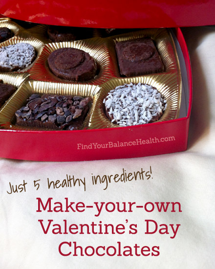 Make Your Own Box Of Healthy Valentine S Day Chocolates It S