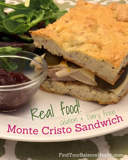 Real food makeover: The Monte Cristo Sandwich | Find Your Balance with ...