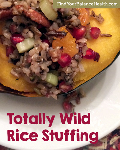 Totally Wild Rice Stuffing recipe