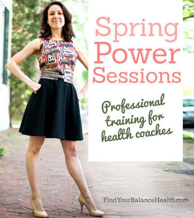 Spring power sessions