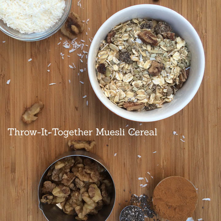Make your own muesli cereal find your balance with michelle muesli cereal sq ccuart Choice Image