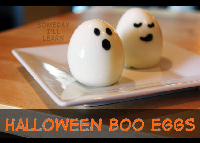 Clean Halloween - Boo Eggs