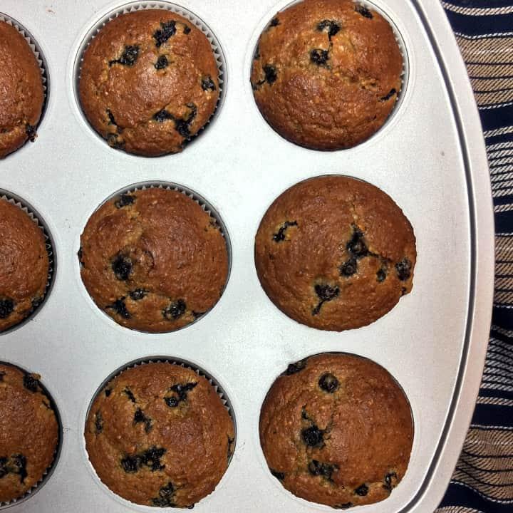 blueberry-muffins-grainfree-healthy-breakfast